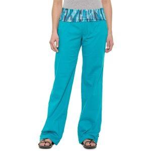 NEW  prAna Sidra Pant - Mid Rise Relaxed Leg sz XL